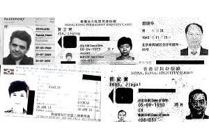 (Clockwise from top left): Architect Patrick Henri Devillers, linked to wife of disgraced politician Bo Xilai; Jia Liqing; Hu Dehua; Deng Jiagui; and Li Xiaolin.