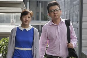 """Yang and his wife, Takagi. The defence is arguing that only Takagi used the Skype account """"able_tree"""" to discuss TRS matters. But the prosecution says it will show later in the trial that Yang was the person behind the discussions on the Skype accoun"""