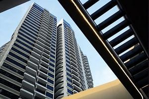 Among the projects which registered a significant number of resale transactions last month was D'Leedon in Leedon Heights, where six units were resold.