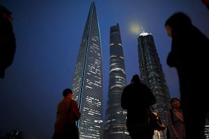 The Pudong financial district in Shanghai, China. Singaporean managers talk about having a presence in Indonesia, China or Vietnam, but say nothing about the promise of the US, Canada or Chile, said Dr Marc Busch.