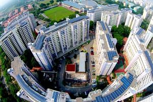 Sunseap installed solar panels on the rooftops of more than 800 HDB buildings across Singapore to generate solar energy to help power Apple's operations in the country.