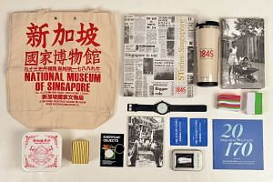 Stand a chance to win a goodie bag with collectibles from the National Heritage Board as well as a pair of two-week subscription passes to The Straits Times' digital products when you nominate one of the five items to represent Singapore at 51 on the