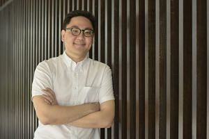 Mr Brian Chua has fond memories of his late grandmother's Peranakan dishes of buah keluak and chap chye.