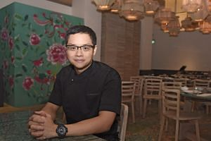 Mr Malcolm Lee, owner of the Michelin-starred Candlenut, at its new premises in Dempsey Hill.