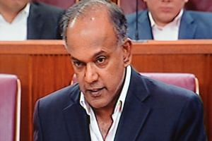 Mr Shanmugam described as cynical the WP's view that