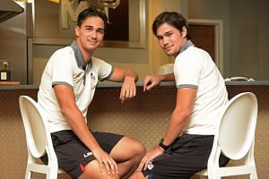 Brothers James (left) and Phil Younghusband will be key components of a Philippines team eager to capture their first AFF Suzuki Cup title. The Azkals will have the advantage of playing on home soil in their bid to first qualify for the semi-finals f