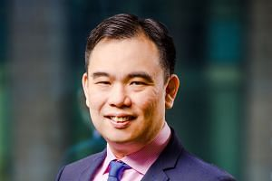 Mr Bhatia says FWD offers Singapore's first fully mobile quote, purchase and claims service. Mr Low says the Liberty China Card is accepted at quality hospitals in China, Taiwan and Hong Kong. AIG customers travelling abroad can turn to its global as