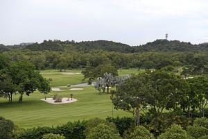 The Raffles Country Club plot (above) is more than twice the size of Jurong Country Club, which will make way for the HSR terminus. The Raffles site will also hold a depot for the Cross Island MRT line.