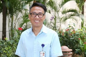 Although he was trained in mechanical engineering, Mr Lai Kok Kiong found his calling as a nurse clinician. Of the biggest difference between his current job and his former one, he says: