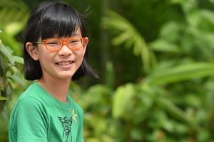 Chia Shernin, 10, who participated in the Atom 2 study, said the eye drops have prevented her eyesight from worsening.