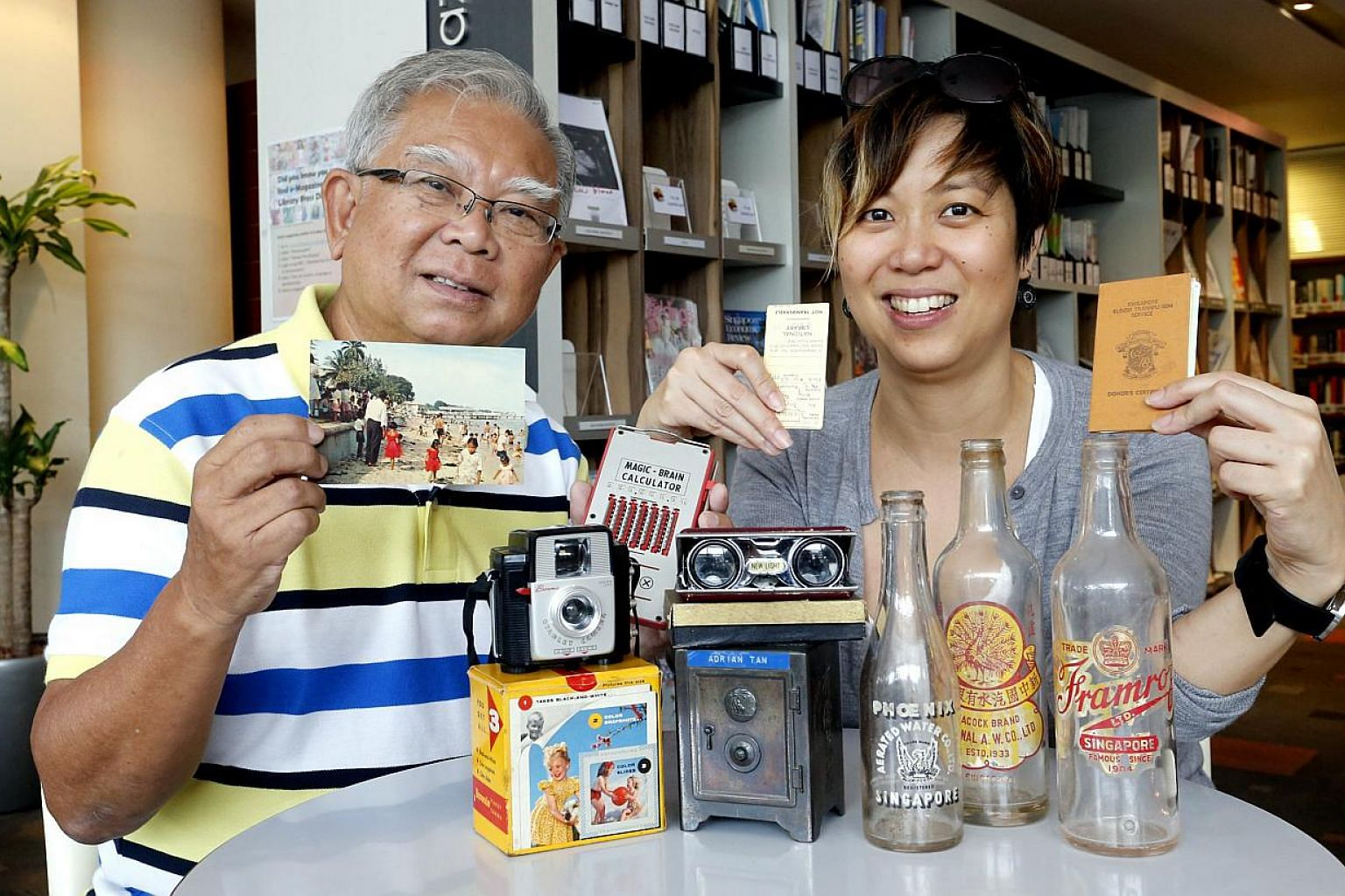 Mr Tan Peng Ann and Ms Eleanor Yap have started an online scrapbook to compile stories from the elderly on their treasured objects. They aim to preserve these items and the memories associated with them for the younger generation.