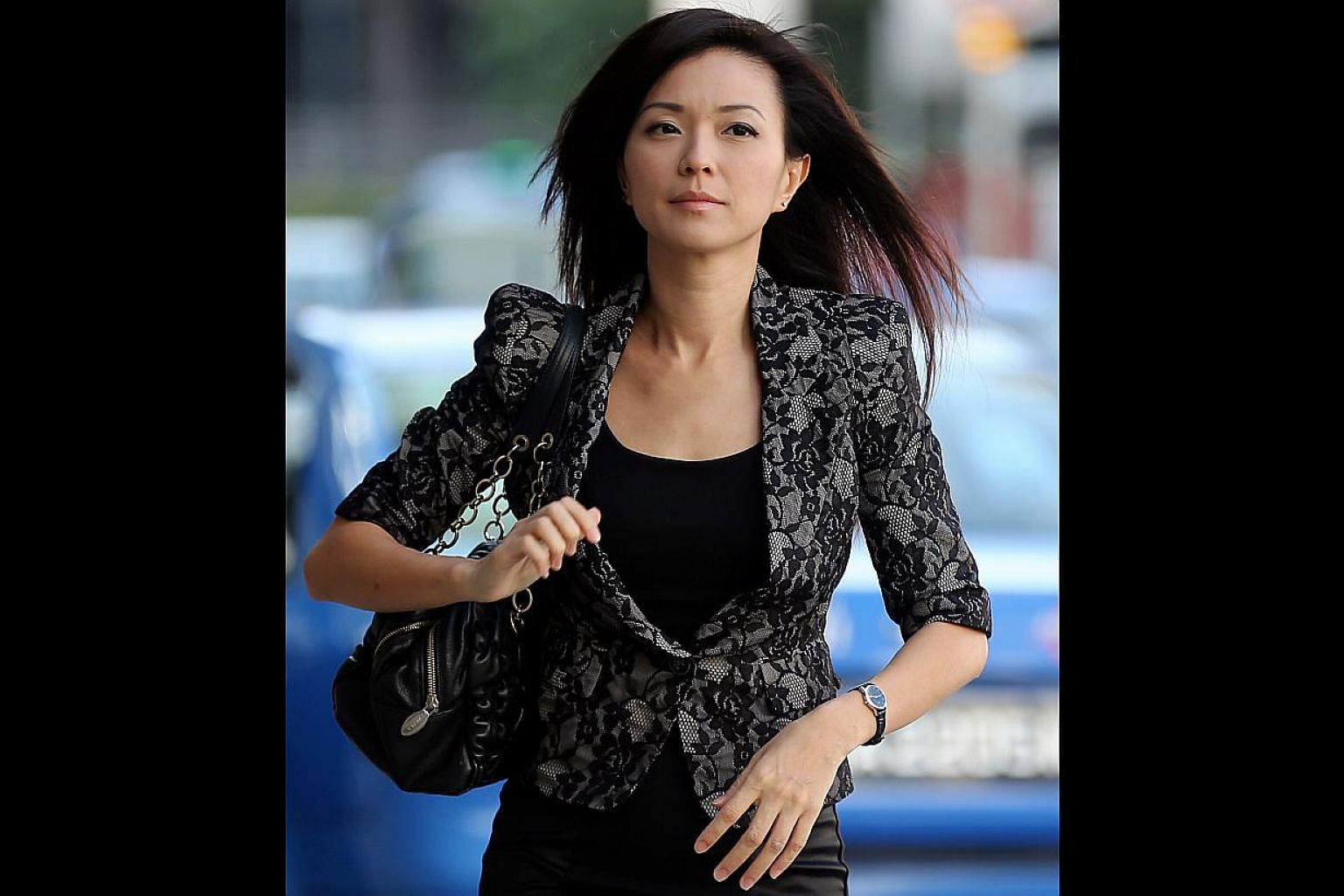 The prosecution made the allegation during the cross- examination of Serina Wee.