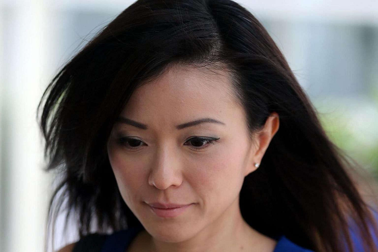 Serina Wee disagreed she knew the bonds were a sham and that she had knowingly conspired with the others to misappropriate church funds. -- ST PHOTO: WONG KWAI CHOW