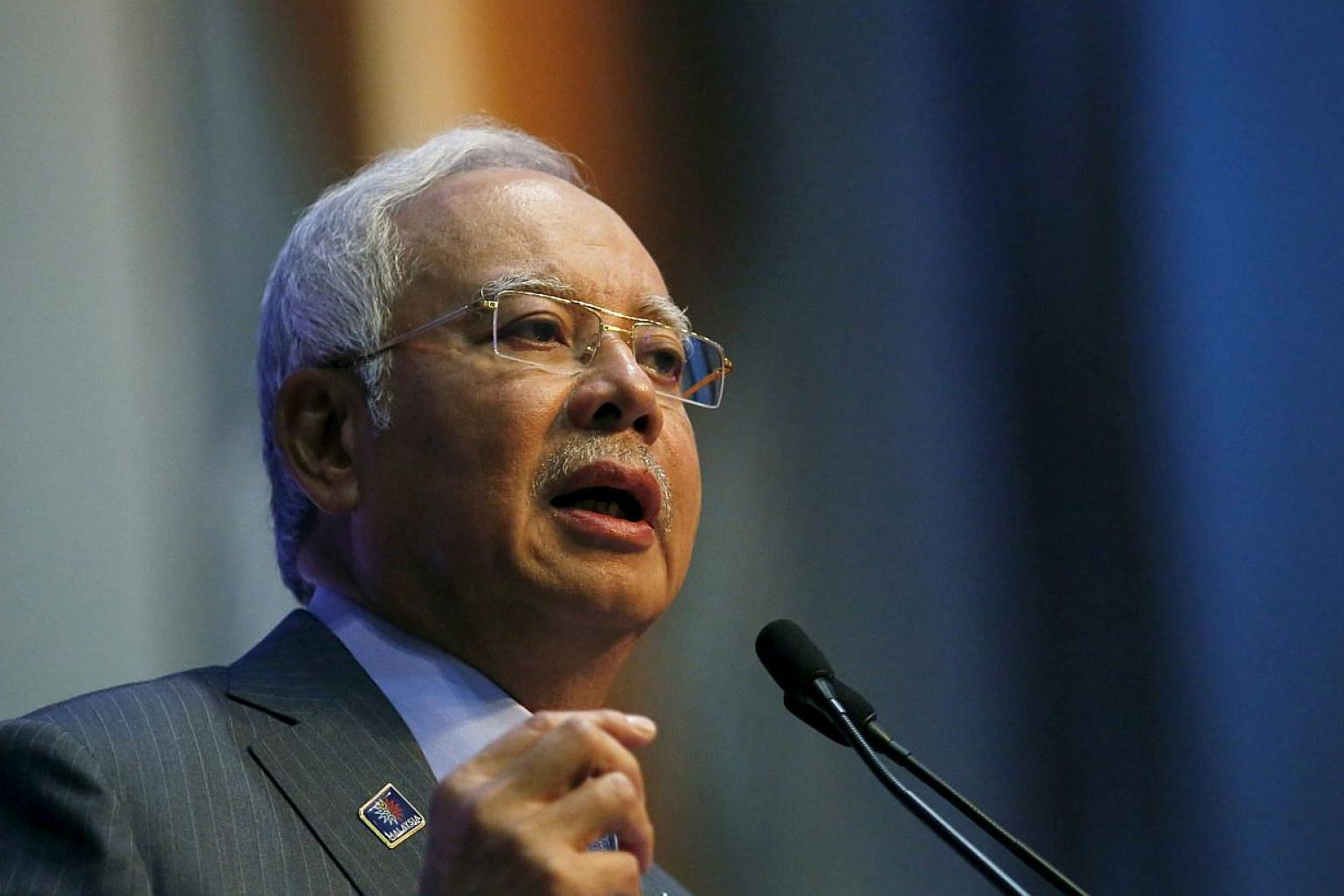 Malaysian Prime Minister Najib Razak said on Wednesday, May 20, 2015, that the remaining US$1.1 billion (S$1.47 billion) that state investor 1MDB redeemed from its offshore account in the Cayman islands into a Singaporean bank was in United States do
