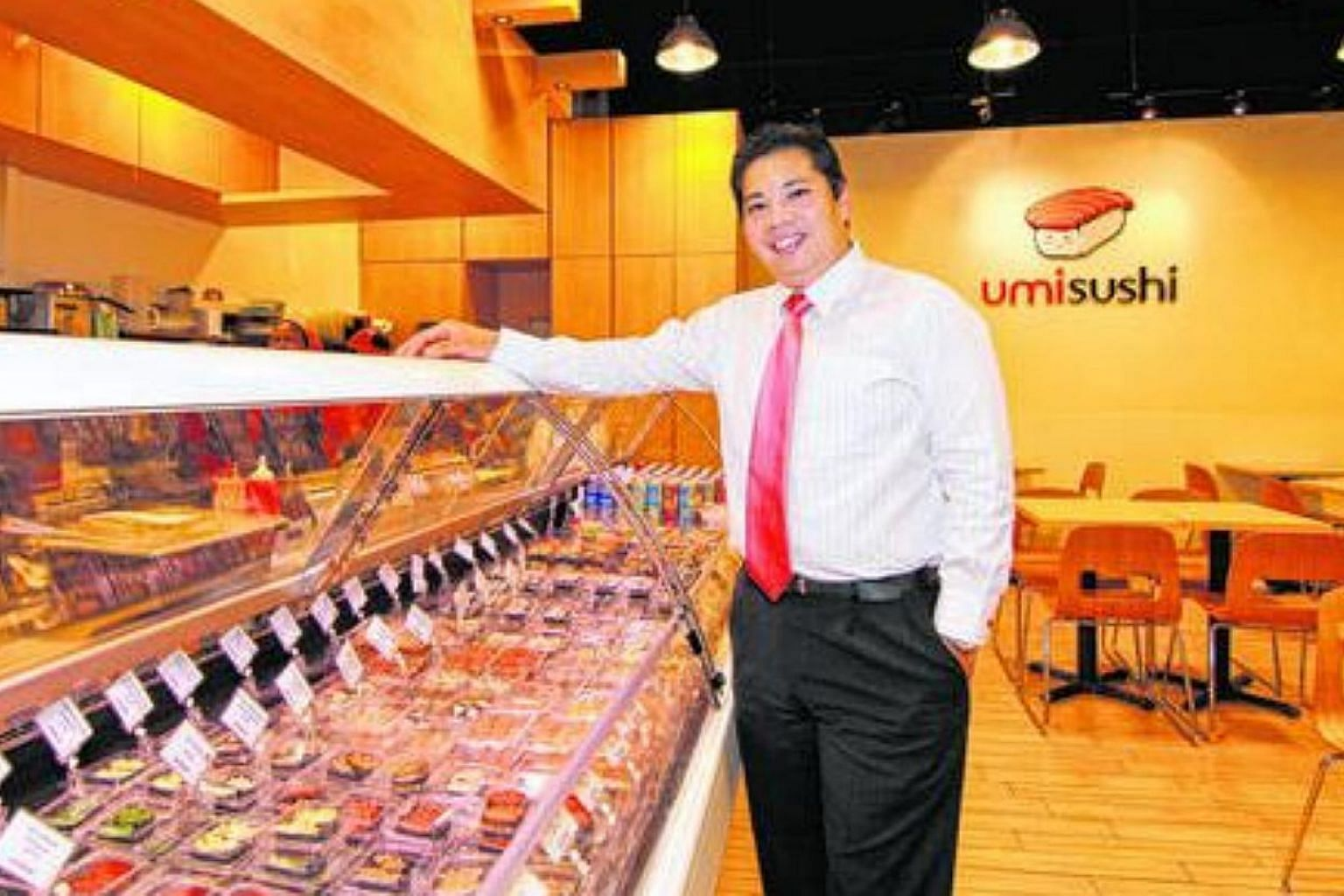 Mr Neo Kah Kiat, 41, founder of catering giant Neo Group Limited. -- ST PHOTO: TERRENCE LIM