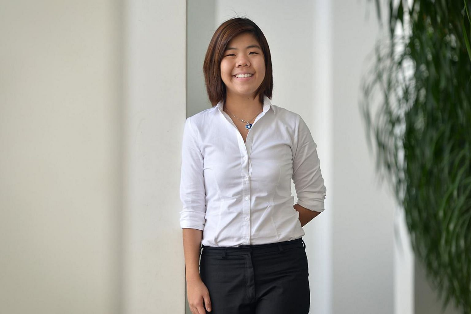JUST 26, SHE HAS MADE HER MILLION: Property agent Shirley Seng, 26, hit a $1.5 million jackpot last month when she sold a penthouse in Le Nouvel Ardmore for $51 million. It is believed to be a record price for a penthouse in Singapore and made the Na