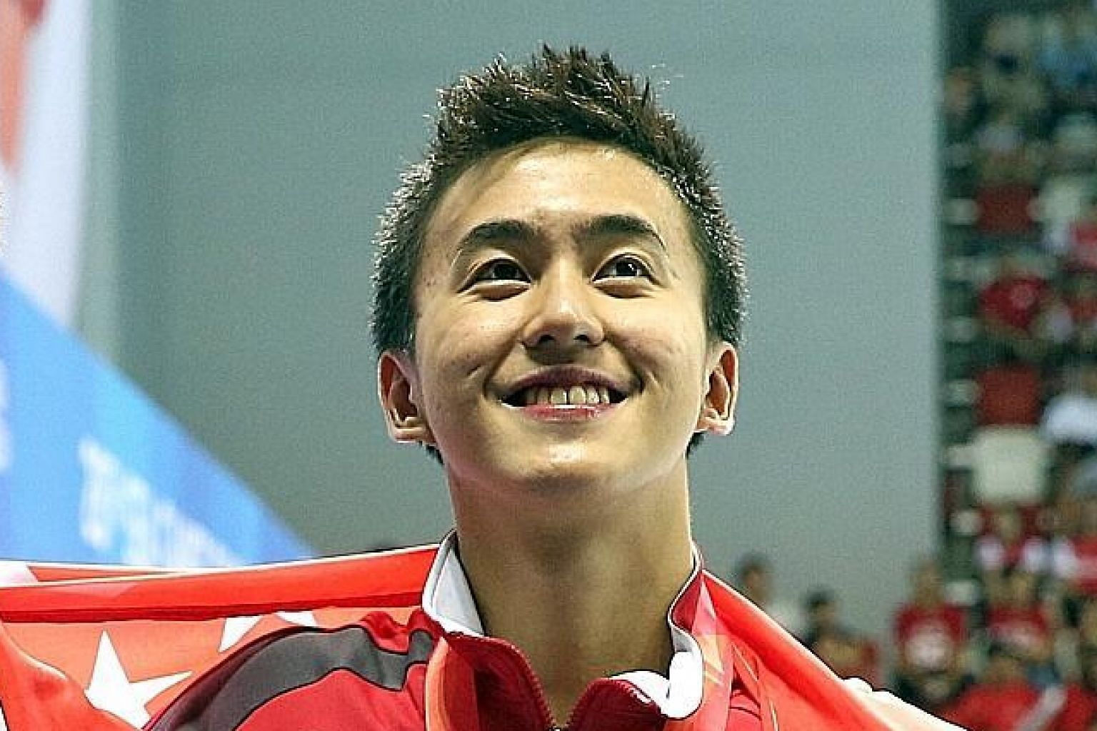 Quah has qualified for the Olympics in the 200m fly.