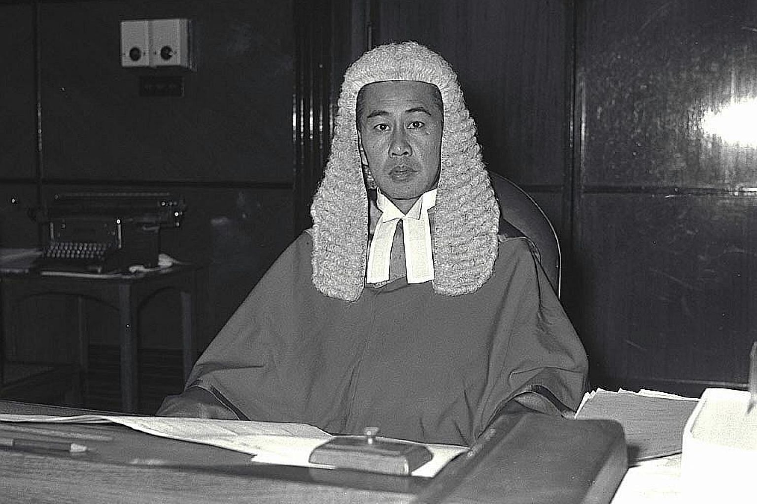 Chief Justice Wee Chong Jin was Singapore's longest-serving Chief Justice, and was in office for 27 years.