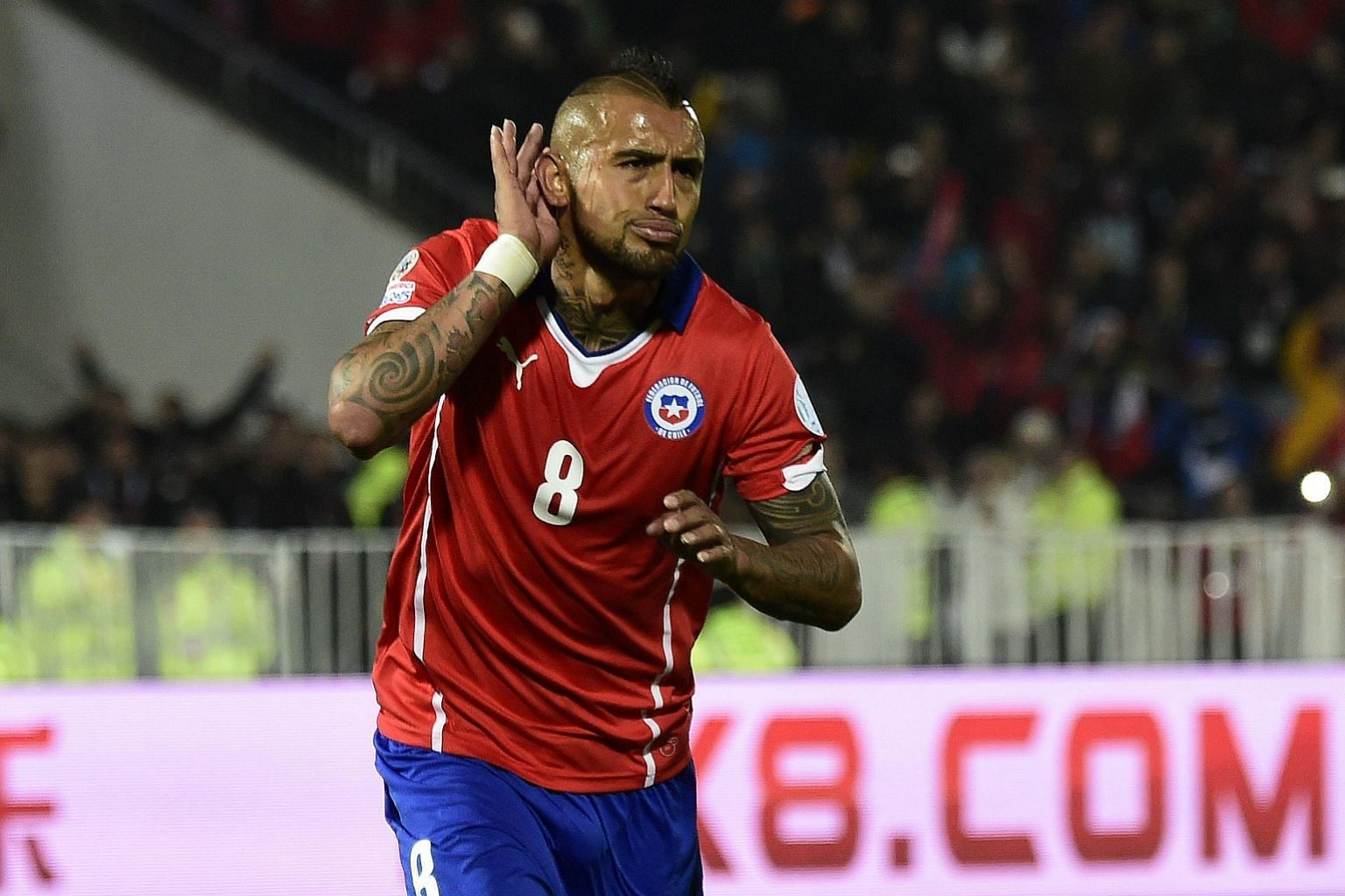 Chilean Arturo Vidal is expected to be the long-term replacement at Bayern for the injury-plagued Frenchman Franck Ribery.