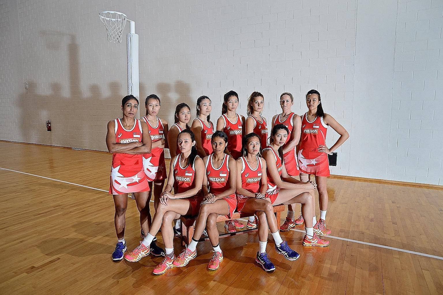 The Singapore netball team are on the right track, having risen from 21st in the world four years ago to No. 15 and winning the SEA Games gold on home soil in June.