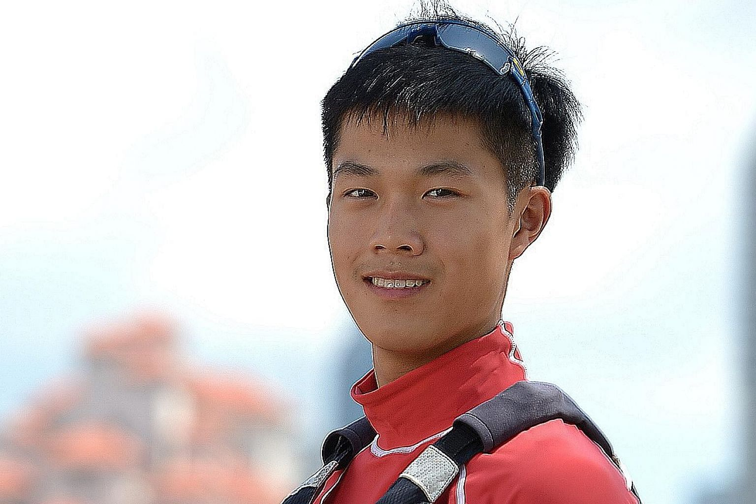 Singapore's Bernie Chin won the Under-17 Laser Radial title at the World Championships in Kingston, Canada on Thursday.