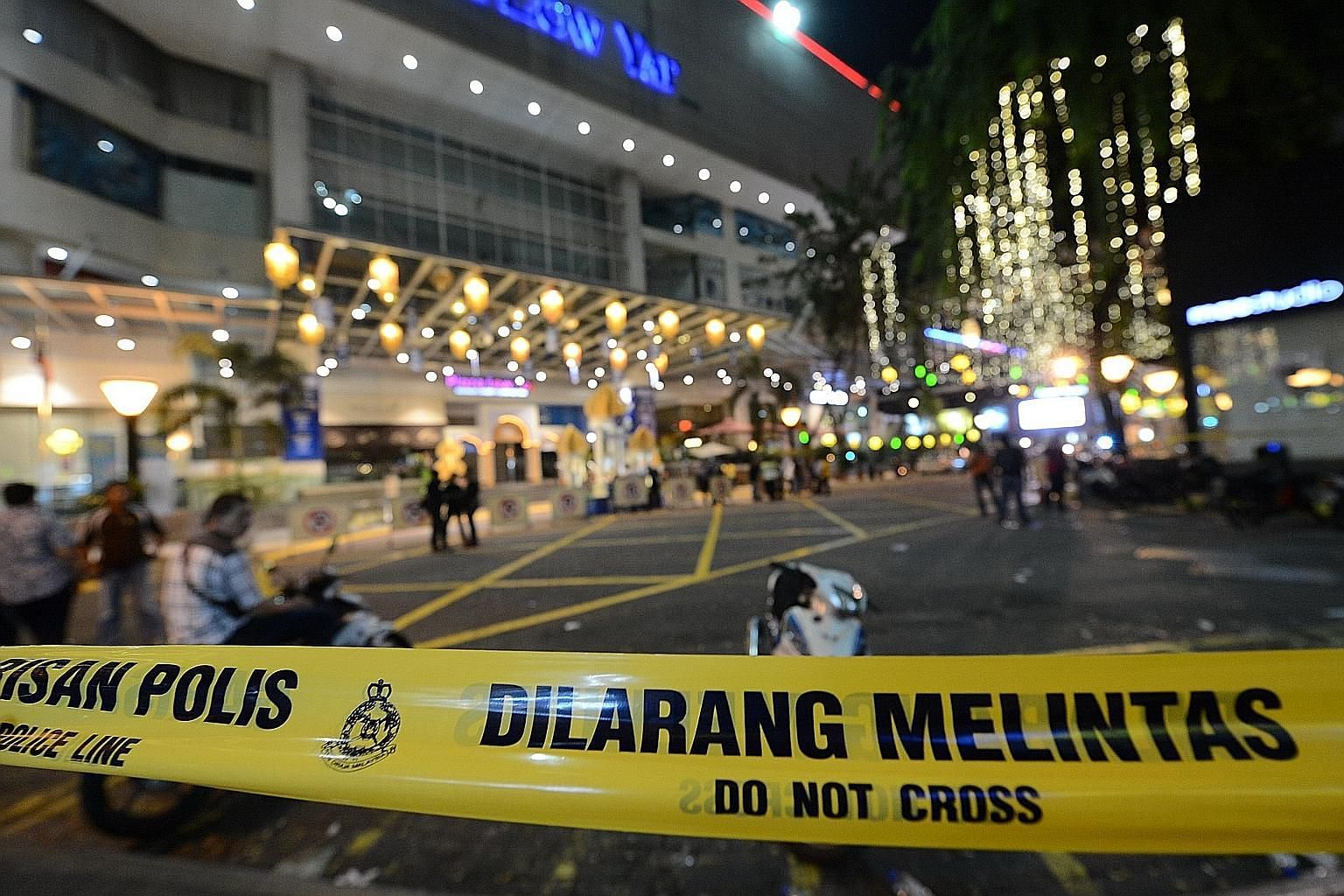 The aftermath of the clash between Chinese and Malays at Low Yat Plaza in Kuala Lumpur last month. If Malaysia is troubled, unstable or divided, Singapore's economy, society and security will be affected.