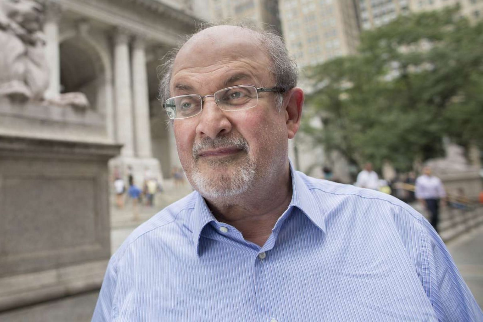 Two Years Eight Months And Twenty- Eight Nights by Salman Rushdie (above) probes the nature of religious conflict.