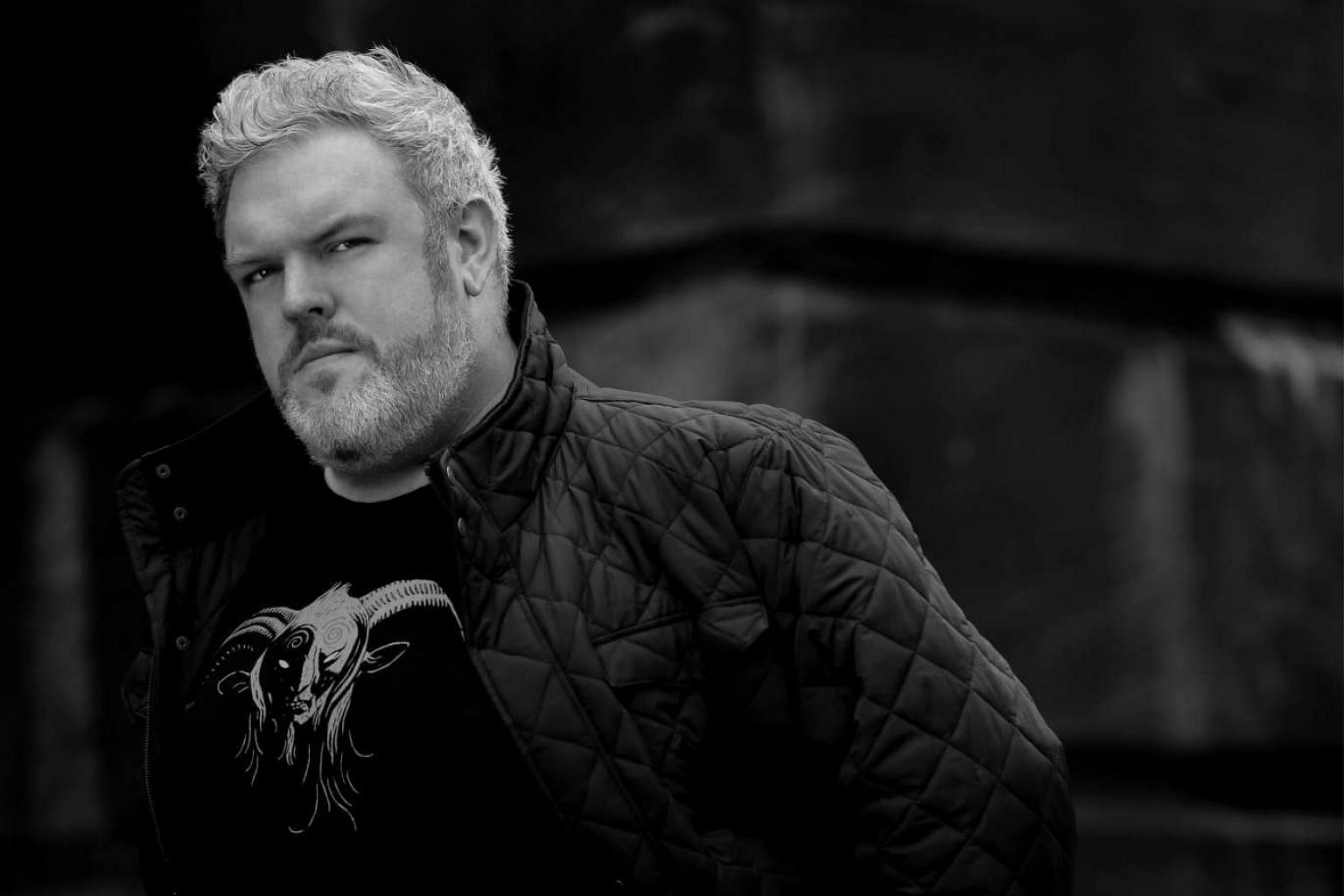 Actor Kristian Nairn, who plays Hodor on Game Of Thrones, is also a DJ.