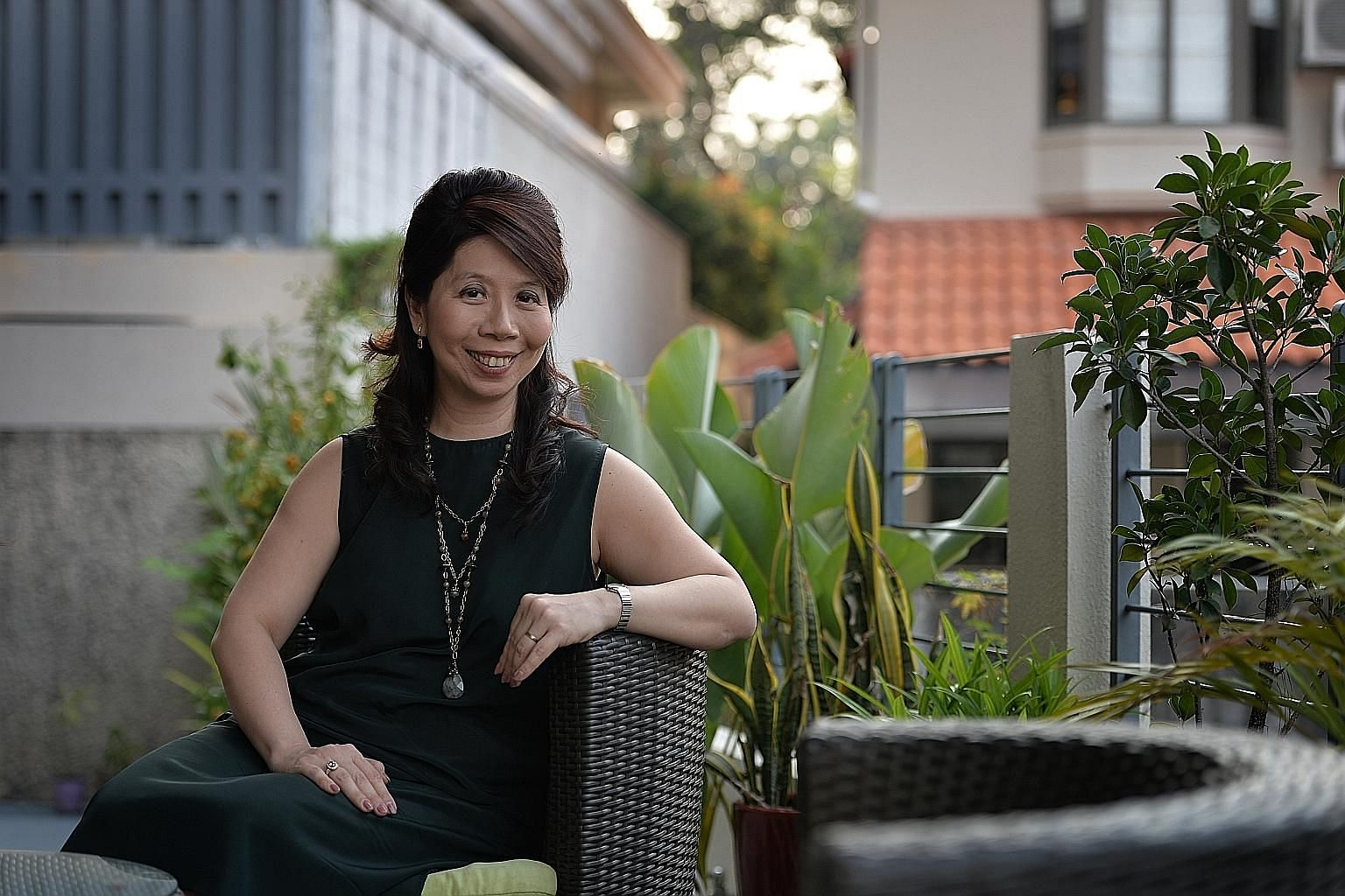 Ms Madeline Ho learnt a lot from the life experiences of her great grandmother, like being frugal. She believes her business has a social purpose.
