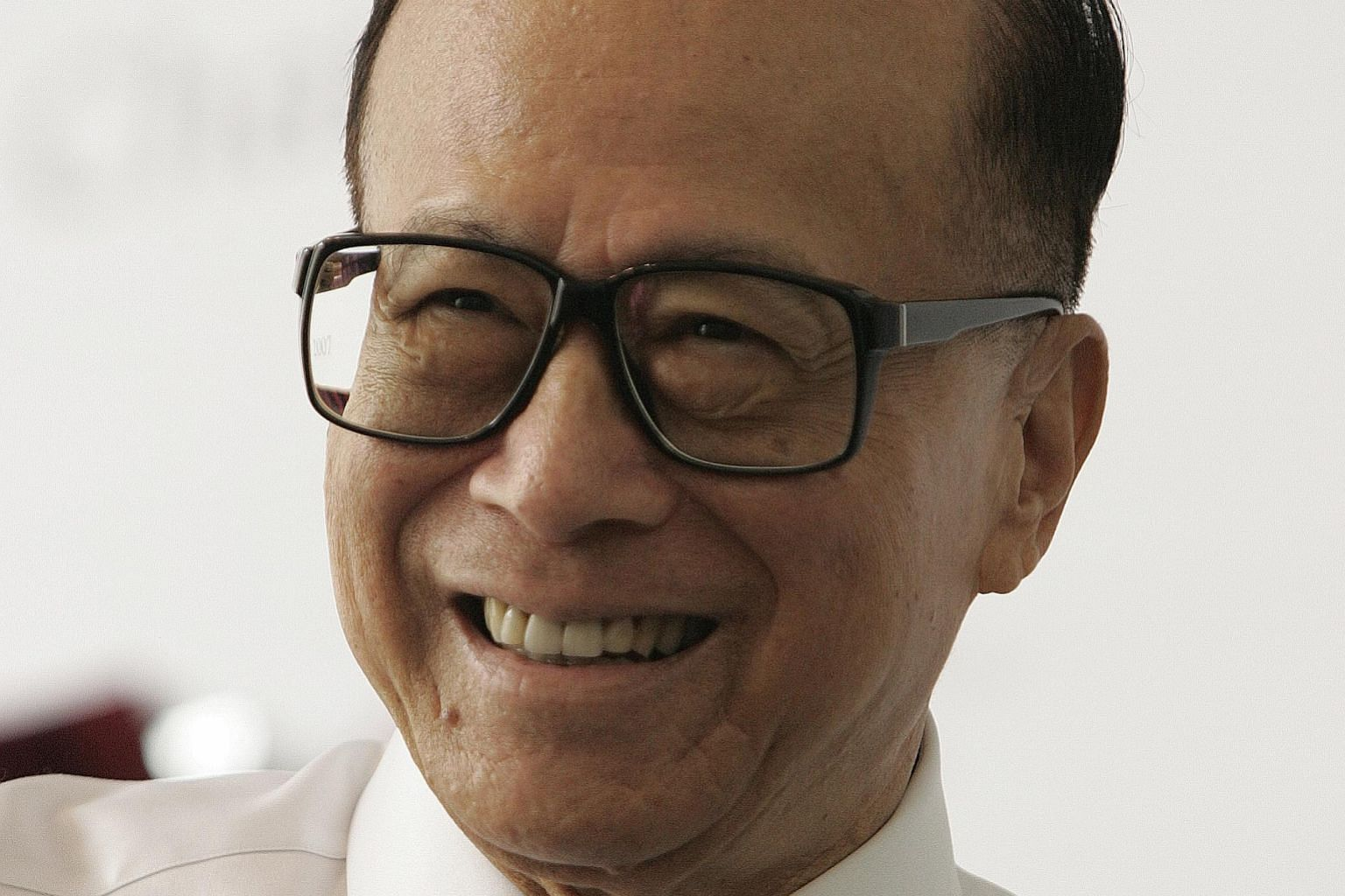 Mr Li Ka-shing is currently worth S$46 billion, according to the Bloomberg billionaires index.