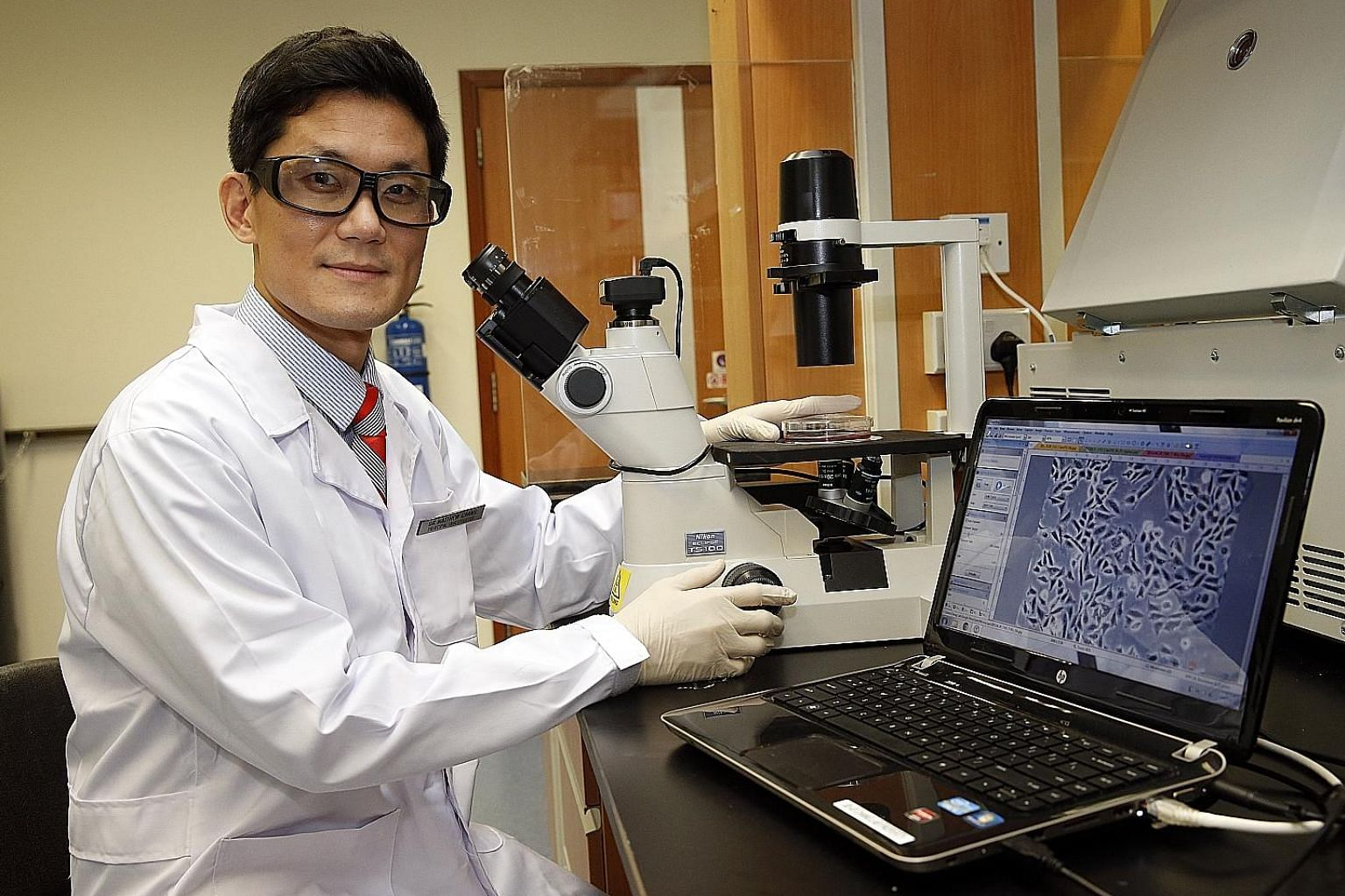 Associate Professor Matthew Chang is leading an NUS team which will be creating a synthetic version of a chromosome found in yeast.