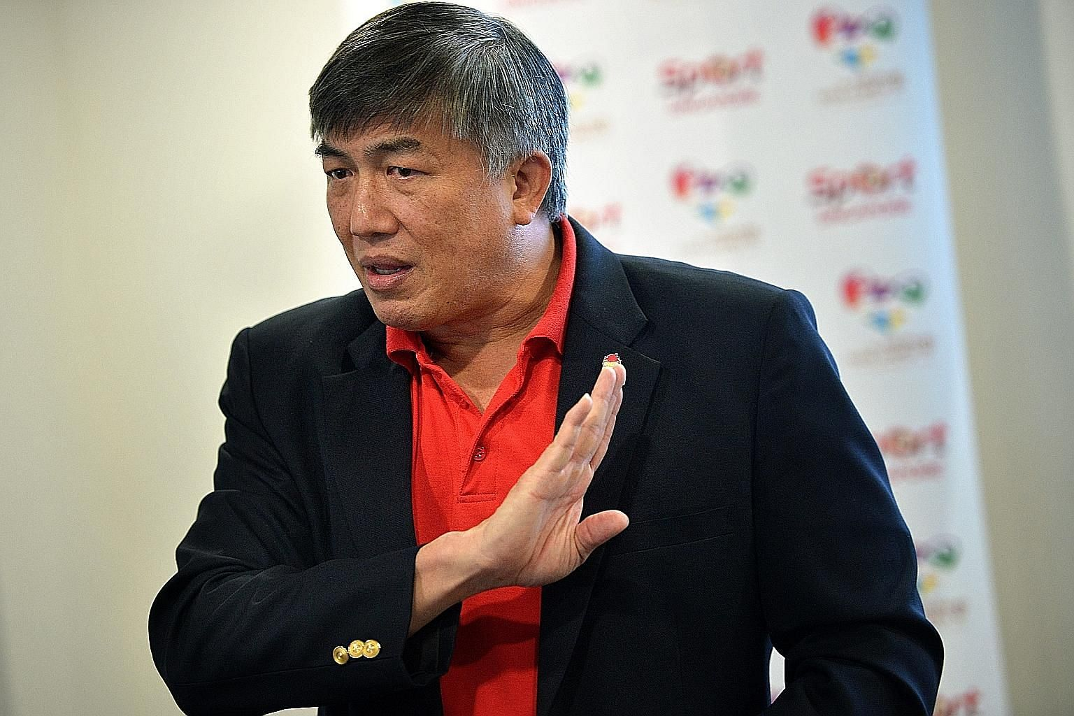 Singapore Asean Para Games Organising Committee chairman Lim Teck Yin says the athletes have the choice to take the train or bus.