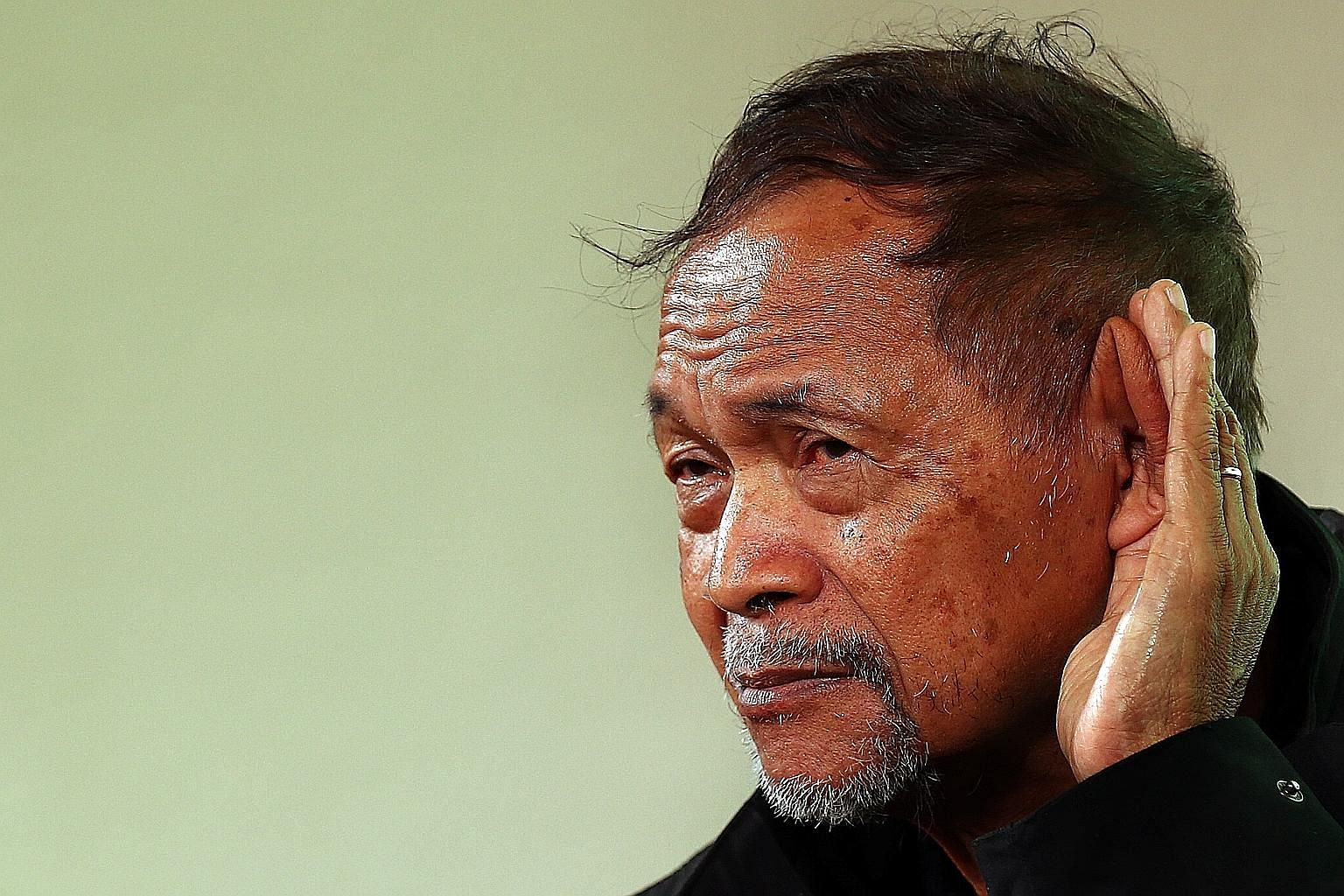 Indonesian writer and activist Goenawan Mohamad spoke with fire and surprising humour.