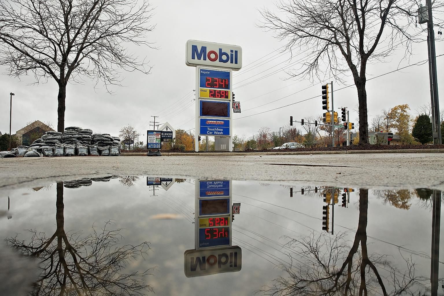 Exxon Mobil is under investigation in New York for possible legal violations in connection with its statements about climate change.