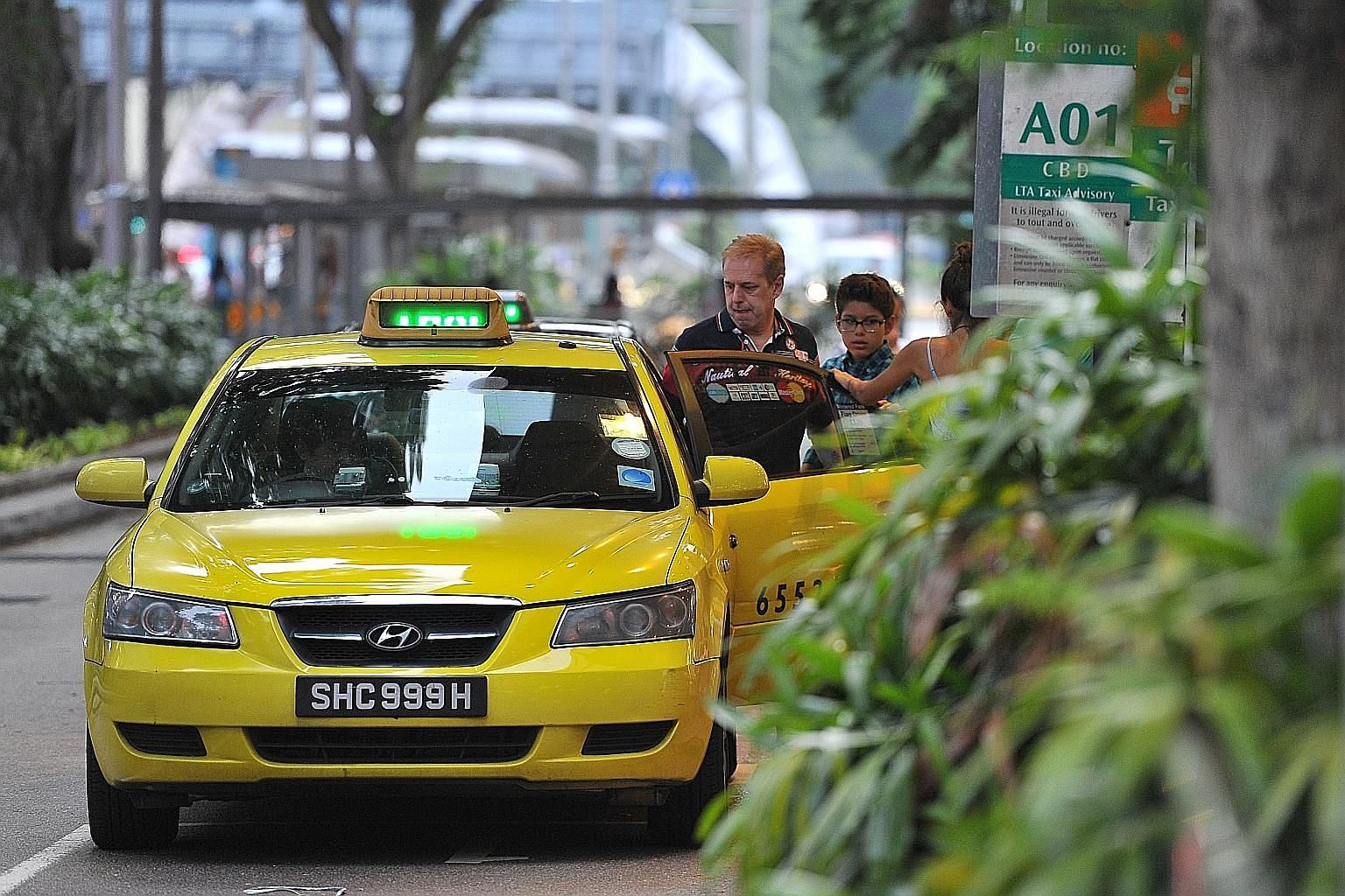 Revenue from ComfortDelGro's taxi business in Singapore increased by 2.8 per cent to $253.9 million. The corporation said it expects revenue from the bus, taxi and rail businesses to be higher.
