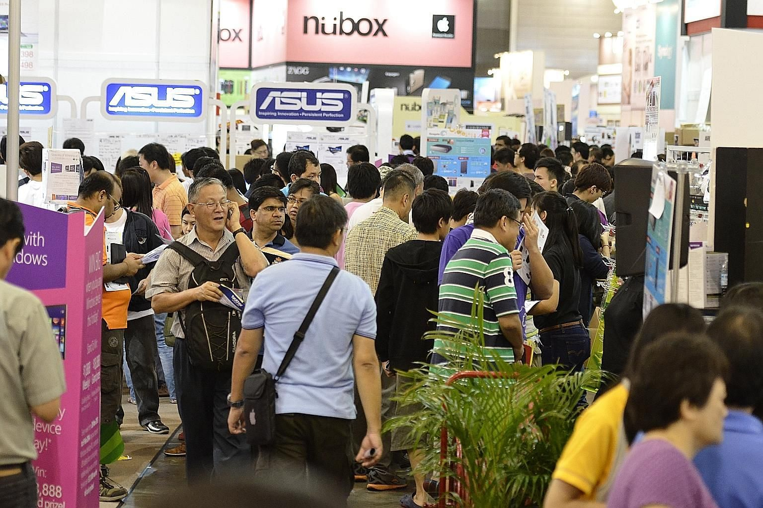 More than 80 exhibitors representing over 300 brands, including Asus, Microsoft and Lenovo, will participate in the show to satisfy your tech cravings.