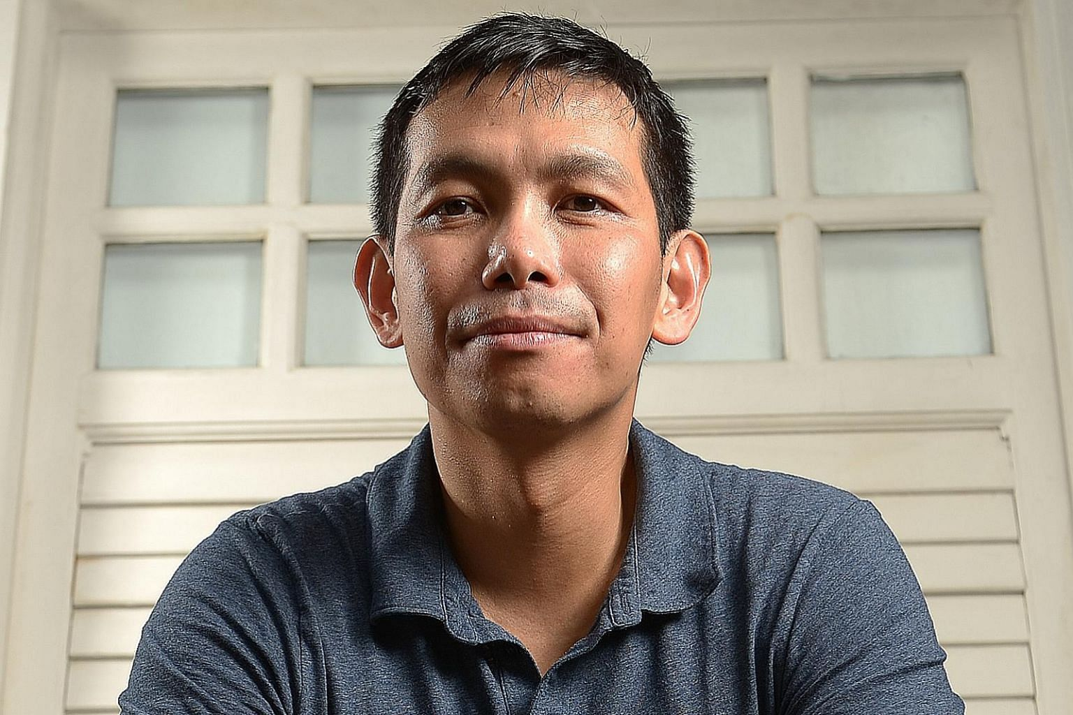 Now based in New York, Singapore poet Jee Leong Koh (above) says he is humbled by the Financial Times' recognition for his collection, Steep Tea.