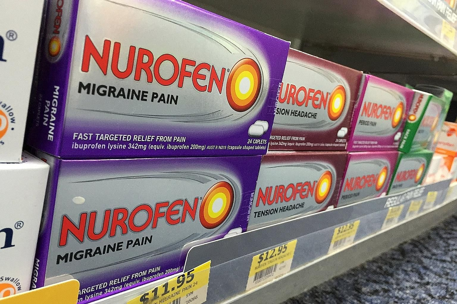 Reckitt Benckiser has been ordered to pull some of its Nurofen pain relief products from the Australian market after the Federal Court found its claims were misleading.