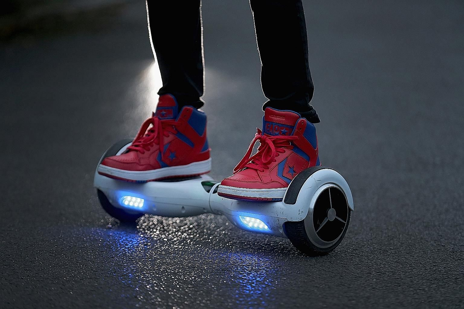 The self-balancing so-called hoverboards are coming under scrutiny, mainly because of their unpredictable lithium-ion batteries.