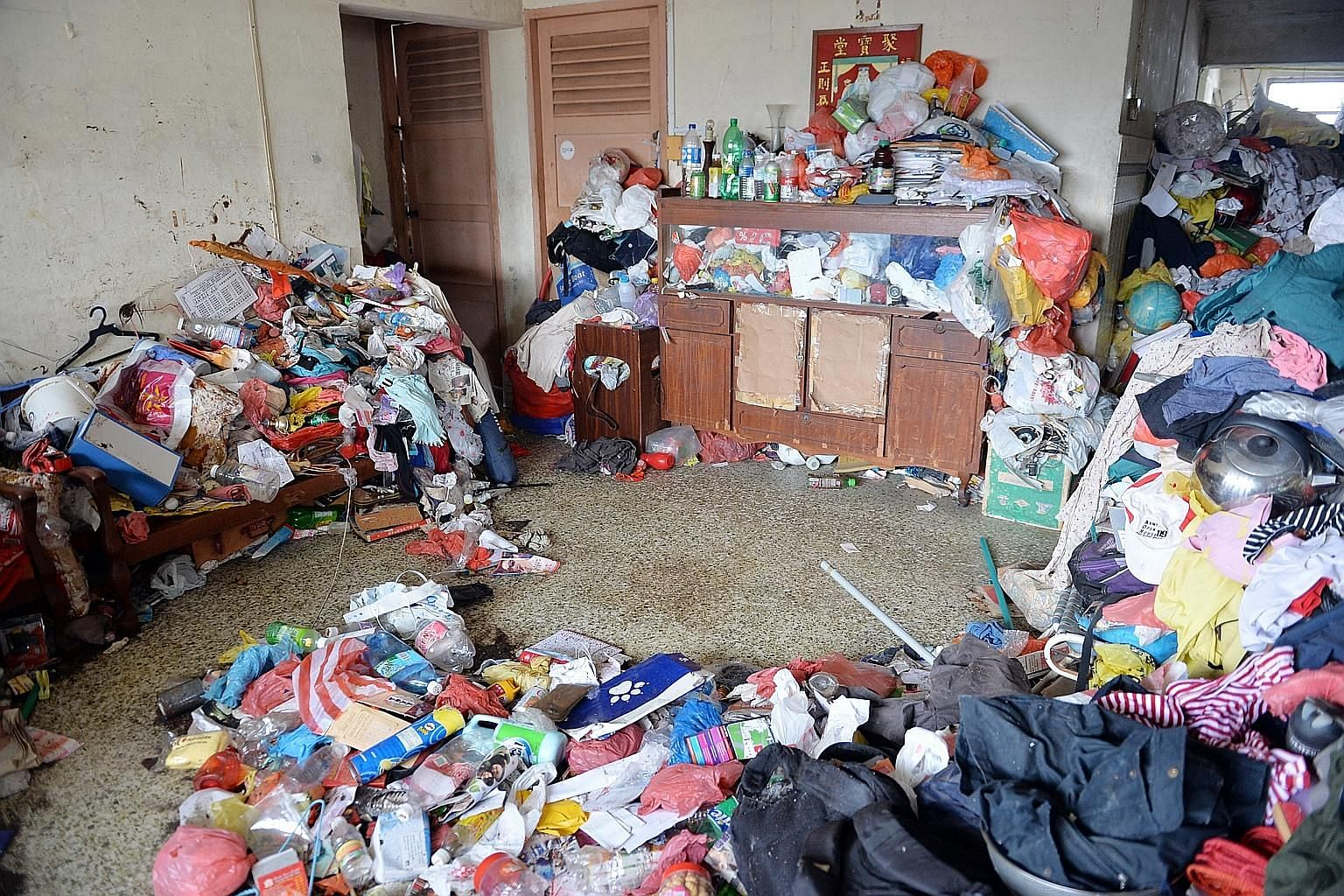 Those who hoard have difficulty discarding their possessions, or have strong urges to save them, which may result in the person's home becoming so cluttered that living space becomes a hygiene and fire hazard.