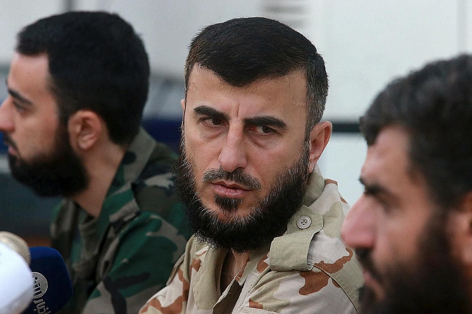 Army of Islam leader Zahran Alloush, who commanded the biggest rebel faction in Damascus, was killed at the group's headquarters.