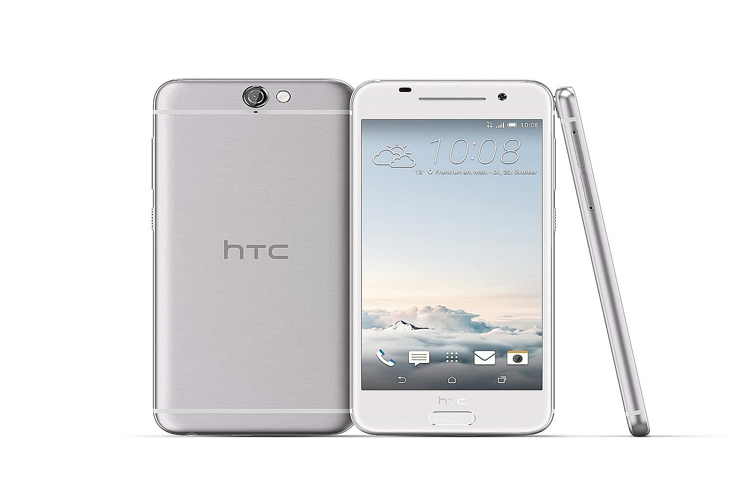 HTC has taken a page from Apple's design manual with the HTC One A9. Gone are the previous ungainly designs, resulting in a sleek, polished device.