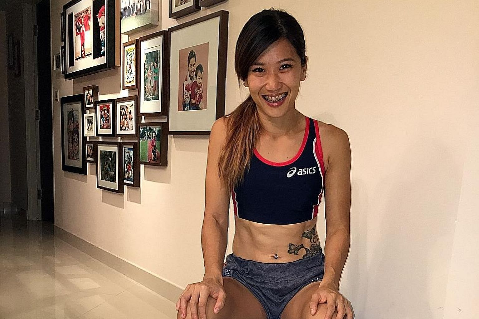 Ms Yang says her most prized possession is the silver medal she won at last year's SEA Games. It is her first medal after 10 years of failure in two previous SEA Games.