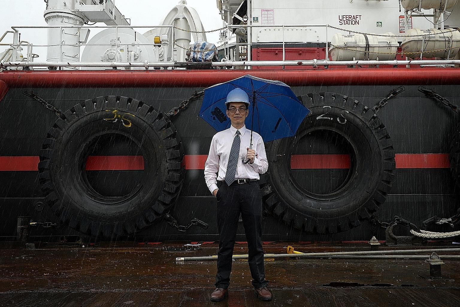 Mr Chan, Berlitz Offshore & Marine Group CEO, said the firm is doing all it can to cope with the downturn - including providing perks to meet client demands, even if it means pushing up its offshore operating expenses. The privately-owned outfit saw
