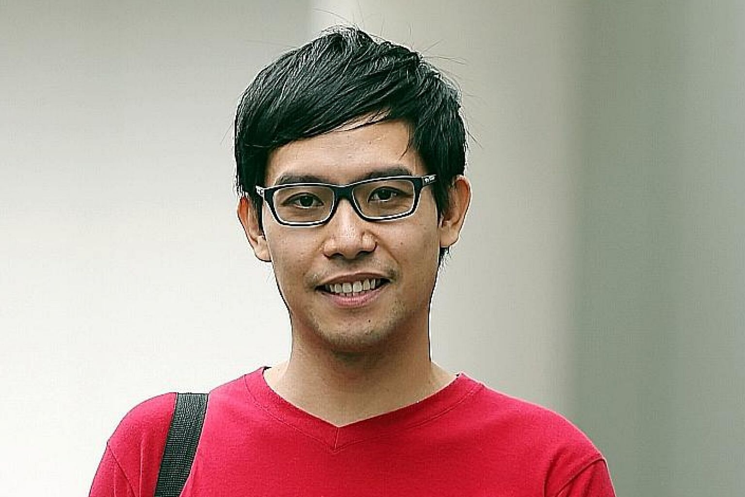 Mr Ngerng raised more than $12,000 over the past two days after making an online appeal to the public for funds.