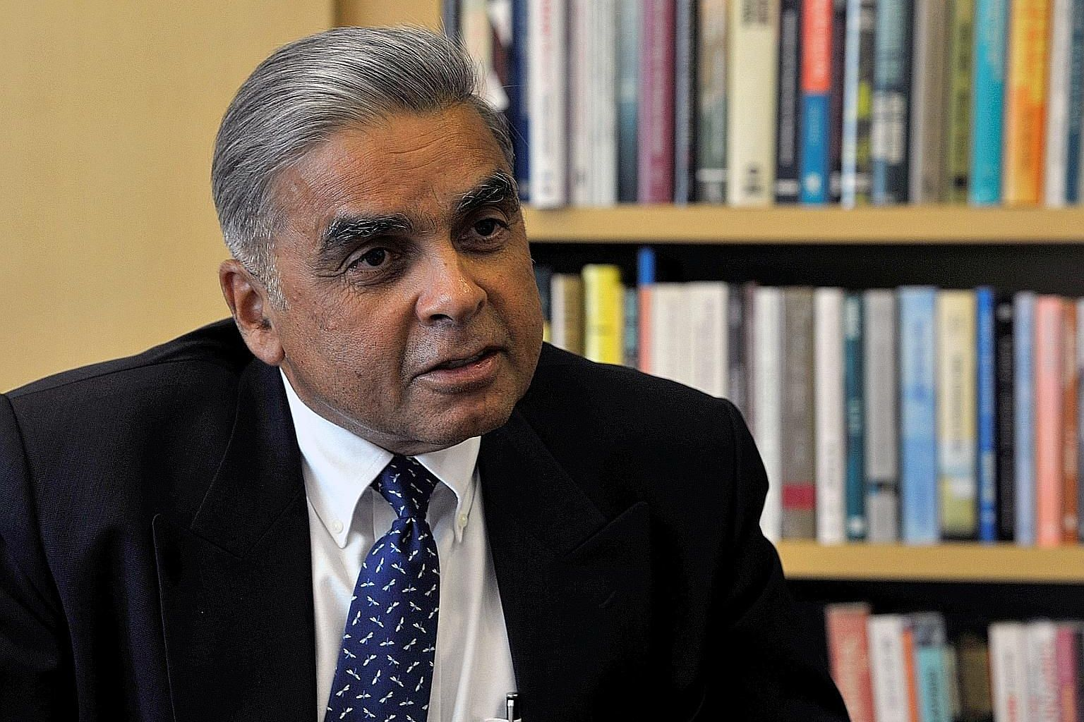 Prof Mahbubani had continued his regular 8km runs despite having severe chest pains this year. He also put off seeing a doctor.