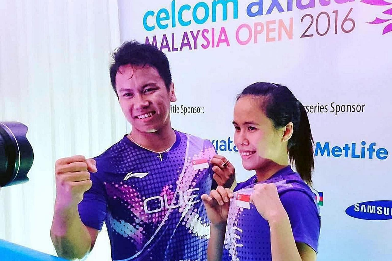 Danny Bawa Chrisnanta and Vanessa Neo's performance in Malaysia is their best on the circuit this year and gives them confidence for the Singapore Open next week.