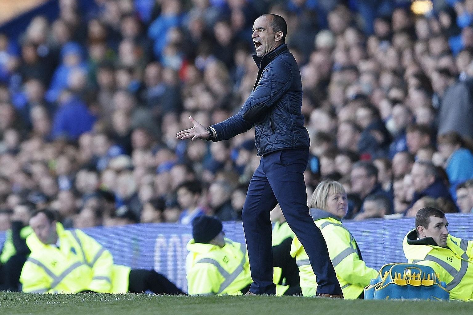 Everton fans are running out of patience with manager Roberto Martinez, who has presided over an inconsistent season in which the Toffees have earned just 17 points out of a possible 51 at home. This is set to be the worst return in the club's histor