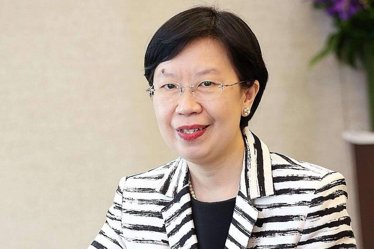 """SMU provost Lily Kong says that """"through a deeper understanding of how politics, law and economics intersect to shape the world in which we live, we hope to groom a new generation of leaders and thinkers for Singapore""""."""
