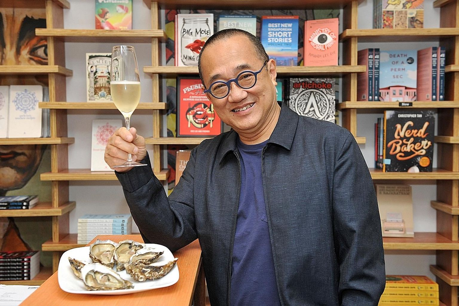 Epigram Books chief executive officer Edmund Wee started cooking after watching Jamie Oliver's The Naked Chef on television.